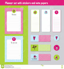 To Do Stickers Planner Set Note Paper Notes To Do List Organiser Planner Te