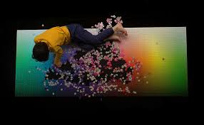 cymk puzzle a giant new 5 000 piece cmyk color gamut jigsaw puzzle by clemens