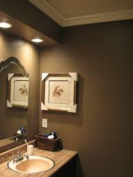 can i paint a small room chocolatey brown