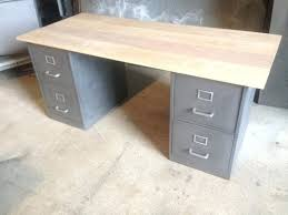 bureau fait maison mobilier bureau industriel meuble bureau industriel bois mactal fait