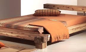 Schlafzimmer Bett 220 X 200 Modular Cal140 41 Bett Cali 140 X 200 Cm Akazie Massiv Natur