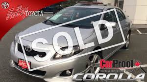 lexus toyota victoria bc sold 2010 toyota corolla xrs preview for sale at valley toyota