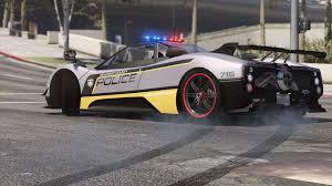 future pagani pagani zonda tricolore pursuit police add on replace