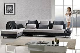 Microfiber Sectional Sofas Two Tone Microfiber Sectional Sofa