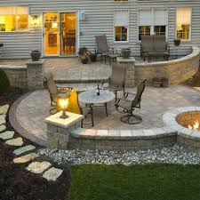 Backyard Paver Patio Designs Paver Patio Designs That Adorn Your Yards Dalcoworld