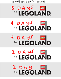 legoland thanksgiving legoland countdown legoland vacation countdown printable