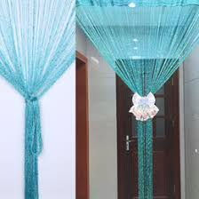 String Tassel Curtains Discount Silver Door Curtains 2017 Silver Door Curtains On Sale