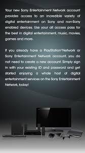 sony si e social create a account sony entertainment