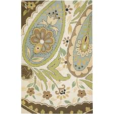 Area Rugs Ct Rizzy Country Ct 1631 Ivory Blue Area Rug Ruggoddess