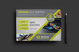 fitness flyer template fitness flyer template brandpacks