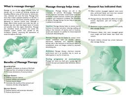free downloadable massage therapy brochures design by pizaz