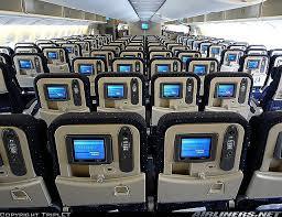 boeing 777 300er sieges sièges dans un avion boeing 777 300 d air en classe économique
