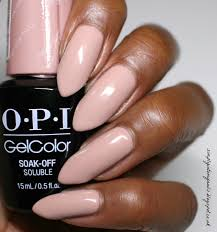 jord watch manicure with opi gelcolor tiramisu for two simply
