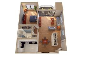 Studio Loft Apartment Floor Plans by Home Design Marina Lofts 1 Bedroom Apartment Floor Plan Fort