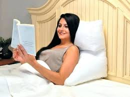 reading bed pillow reading in bed tonetree co