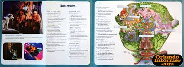 Magic Kingdom Disney World Map by 2011 Walt Disney World Vacation Brochure Let The Memories Begin