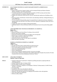 hospital resume exles hospital technician resume sles velvet