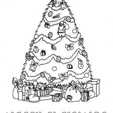 coloring page of christmas tree with presents decorate your own mr gingerbread men for christmas coloring page