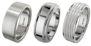wedding band material the best metals for men s wedding rings