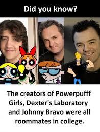 Johnny Bravo Meme - dopl3r com memes did you know the creators of powerpufff