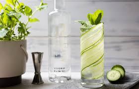 vodka soda the mix cucumber u0026 mint soda recipe vodka cocktails the mix