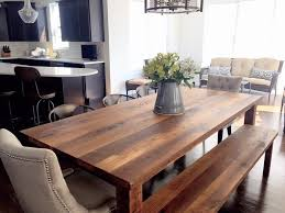 make a dining room table from reclaimed wood astounding reclaimed wood plank dining table farmhouse what we make