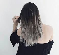 black grey hair grey ombré hair tumblr