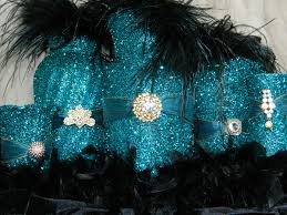 peacock wedding decorations teal wedding decorations decoration