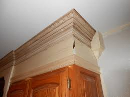 Kitchen Cabinets Trim by Add Crown Molding To Kitchen Cabinets Voluptuo Us