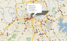 Downtown Nashville Map The Cre Review We Are Nashville Cmbs Loans
