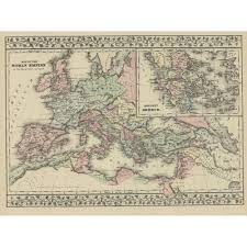 Map Of Ancient Greece 1881 Mitchell
