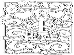 peace free coloring pages on art coloring pages