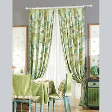 vintage bedroom curtains modern style brown cotton jacquard floral bedroom curtains without