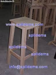 taburetes de pino taburetes madera pino 75cms en crudo al por mayor