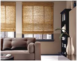 natural window shades the natural bamboo window shades with a
