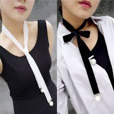 white velvet ribbon women wide black white velvet ribbon choker