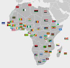 mapa de africa bandeiras de áfrica wikipédia a enciclopédia livre