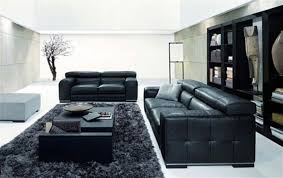 Living Room Ideas With Black Leather Sofa Living Room Design With Black Leather Sofa Black Leather Furniture