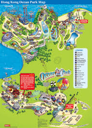 Orlando Tourist Map Pdf by Detailed Map Of Hong Kong Ocean Park Map Ideas Pinterest
