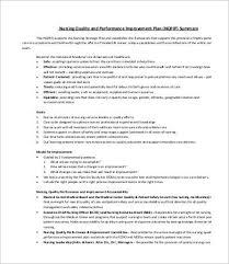 performance plan template performance improvement plan template