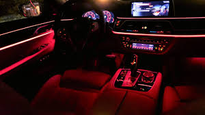 bmw f10 ambient lighting 2017 bmw 7 series g11 750d ambient lighting all colors detailed