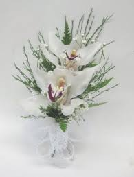 Orchid Corsage Gfs 0891 Double Orchid Corsage Greenfield Flower Shop