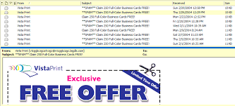 Vistaprint 10 Business Cards Open Letter To Vistaprint Com Stop The Spam Kahunaburger