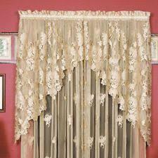 Battenburg Lace Curtains Panels Antique Lace Curtains Ebay