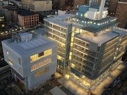 Columbia University Campus Map Columbia University Previews Opening Of The Lenfest Center For The