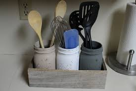diy utensil holder from pallet wood simply house to home