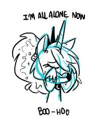 Forever Lonely Meme - 611346 artist herny crying forever alone lonely luna afterdark