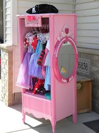 Cabinet Clothes Cabinet For Little Girls Dress Up Clothes Made From An Old Dresser