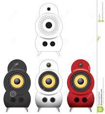 Speaker Designs Designer Speaker Vector Illust Royalty Free Stock Images Image
