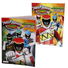 wholesale power rangers dino charge coloring book asst 96pp